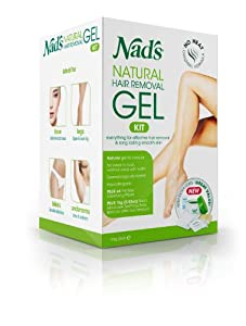 Nad's Natural Hair Removal Gel Kit