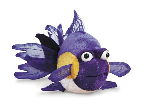 "Ganz Lil'Kinz Purple Goldfish 5"" Plush - 1"