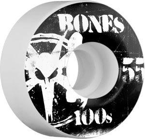 Buy Bones 100'S Og 55mm Natural Skateboard Wheels (Set Of 4) by Bones