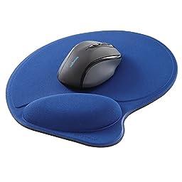 Kensington Wrist Pillow Mouse Pad with Wrist Rest in Blue  (L57803US)