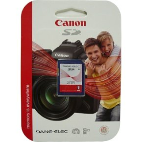 Buy Discount DANE ELEC 2 GB Secure Digital (SD) Memory Card for Canon