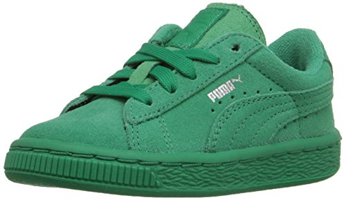 PUMA Suede Kids Sneaker (Toddler/Little Kid/Big Kid) , Simply Green/Simply Green, 13 M US Little Kid