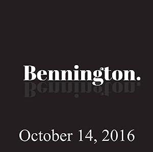 Bennington, October 14, 2016 Radio/TV Program