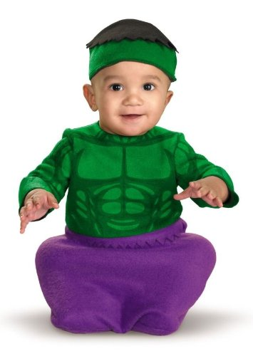 Costumes For All Occasions DG11763I Hulk Bunting 0-6 Months