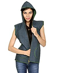 Rajrang Womens Cotton Green XX-Large Jacket