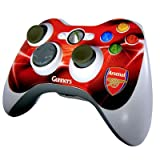 Official Arsenal FC Xbox 360 Controller Skin - A Great Gift / Present For Men, Boys, Sons, Husbands, Dads, Boyfriends For Christmas, Birthdays, Fathers Day, Valentines Day, Anniversaries Or Just As A Treat For Any Avid Football Fan