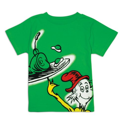 Bumkins Dr. Seuss Short Sleeve Toddler Tee, Green