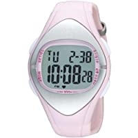 Womens Lorus Watch R2303FX9 Pink with Heart Monitor