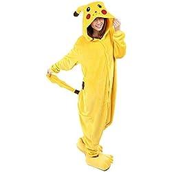Disfraz Pokemon para adultos Pikachu talla M