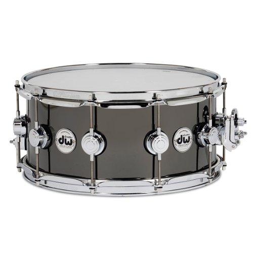 Drum Workshop Collectors Series Black Nickel over Brass Snare Drum