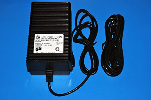 ELPAC POWER SYSTEMS MODEL WRI 4214 POWER SUPPLY INPUT:95-250V OUTPUT 24VDC 1.75A (Elpac Power Supply compare prices)