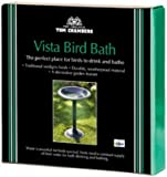 Tom Chambers Vista Bird Bath 50cm (h) 37cm (dia) BB02