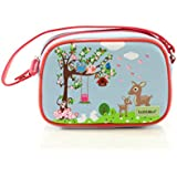 Bobble Art Small Purse With Detachable Strap Woodland