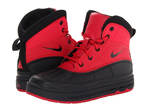 Nike Boy's Woodside 2 High Snow Boots Distance Red/Black 5Y