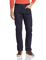 Superdry Men's Relaxed Fit Jeans (5054265624162_M70001KNF4_36W x 32L_Raw Rinse)