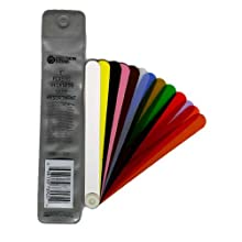 "Precision Brand Plastic Thickness Gage Fan Blade Assortment Blades, 1/2"" Width, 13 Piece"