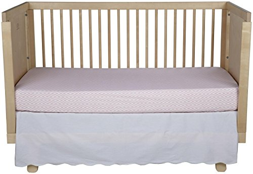 Oliver B 2-Piece Crib Bedding Set- Mint and Pink