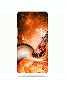 alDivo Premium Quality Printed Mobile Back Cover For One Plus X / One Plus X Back Cover (MKD096)