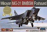 1/48 ミコヤーン MiG-31BM/BSM フォックスハウンド 限定版 プラモデル