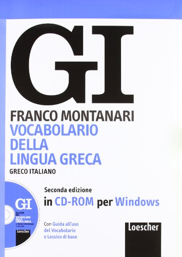 Vocabolario della lingua greca-Guida all'uso. CD-ROM
