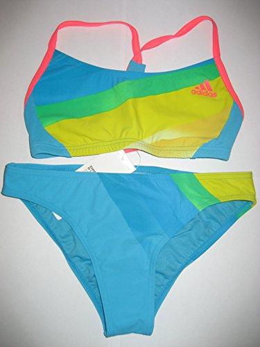 ADIDAS Bikini, Gr: 36, blau/gelb