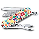 Victorinox Classic SD Swiss Army Knife, Color Up Your Life, 58 mm, Multi