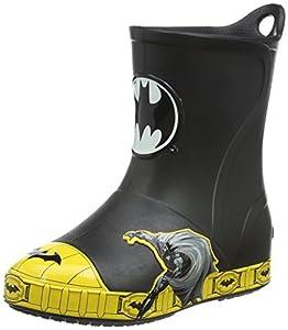 crocs Bump It Batman Rain Boot (Toddler/Little Kid) at Gotham City Store