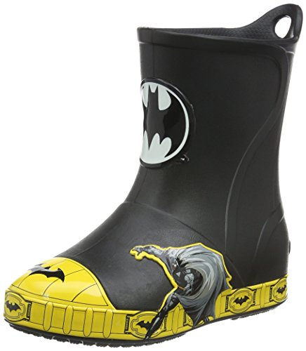 crocs Bump It Batman Rain Boot (Toddler/Little Kid) at Gotham City Store