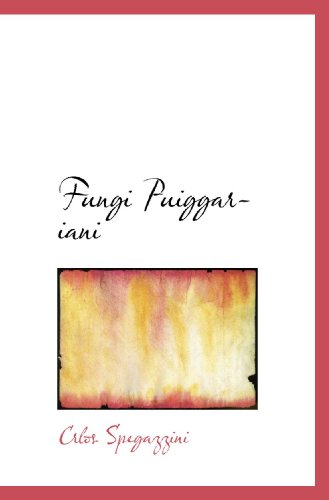 Fungi Puiggariani