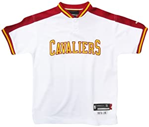 Cleveland Cavaliers Youth White T-Shirt by Reebok