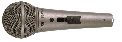 Shure 588Sdx Cardioid Dynamic, High Or Low Z (Plug Selectable), Locking On-Off Slide Switch