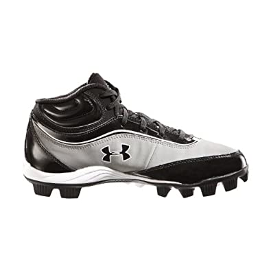 Buy Under Armour Big Boys' UA Leadoff IV Jr. Mid-Cut Rubber Baseball Cleats by Under Armour