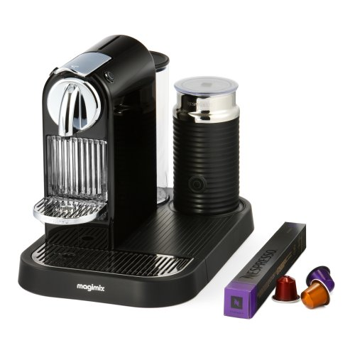 Nespresso CitiZ and Milk by Magimix M190 Coffee Machine – Limousine Black