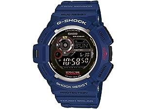 Casio G-Shock G-9300NV-2ER - Reloj de pulsera hombre, color azul