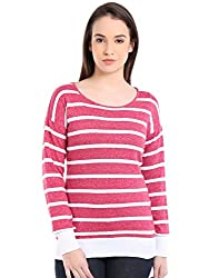 Manola Pink and White Striped Top