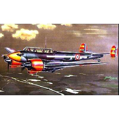 Maquette avion: Potez 631: Chasseur de nuit : 1/72