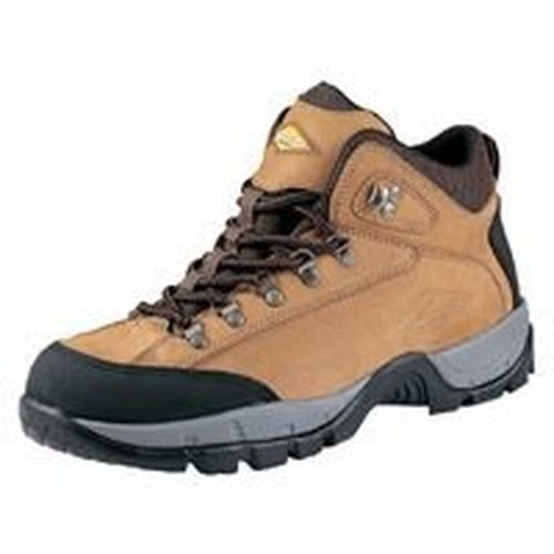 New Diamondback Nubuck Soft Leather Hiker Style Tan 8m Work Casual Boot Sale