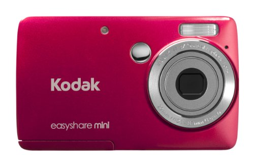 Kodak EasyShare Mini M200 10 MP Digital Camera with 3x Optical Zoom and 2.5-Inch LCD - Red (New Model)