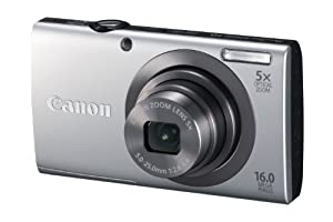Canon Powershot A2300 16.0 Mp Digital Camera With 5x Optical Zoom Silver