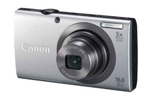 415n34xIugL Canon PowerShot A2300 16.0 MP Digital Camera with 5x Optical Zoom (Silver)