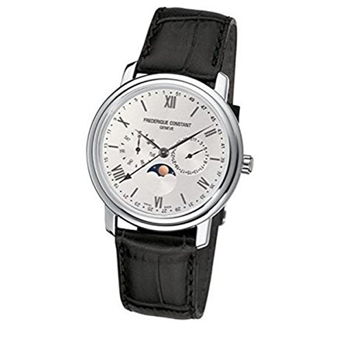 frederique-constant-mens-quartz-watch-with-silver-dial-analogue-display-and-black-leather-strap