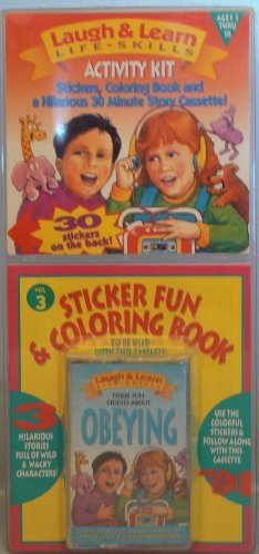 Laugh and Learn Life-Skills Activity Kit , (Three Stories about Obeying) Obeying, Vol. 3
