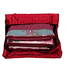 Kuber Industries (TM) 12 Sarees bag, saree cover, 1 bag for keeping 12 sarees ,Wedding Collection, Diwali Gift