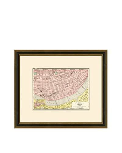 Antique Map of Cincinnati, 1886-1899