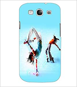 PrintDhaba Dance D-2267 Back Case Cover for SAMSUNG GALAXY S3 (Multi-Coloured)