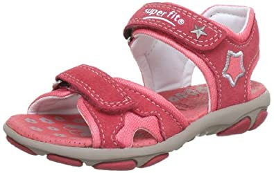 Superfit  Nelly1 Sandals Girls  Red Rot (coral 53) Size: 35