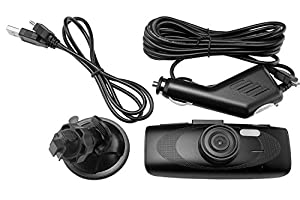 Spy Tec G1WH Full HD 1080P H.264 Car DVR Camera Recorder Dashboard Cam| Black Box Video Recorder | 140° Wide Angle Lens | Authentic NT96650 + AR0330 from The Rear View Camera Center
