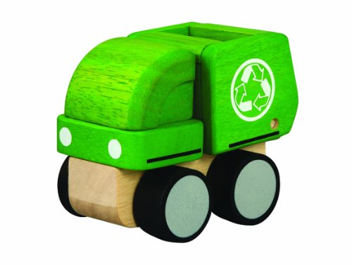 PlanToys Mini Garbage Truck
