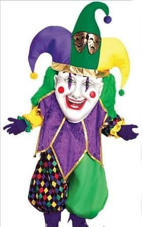 Amazon.com: Parade Jester Adult Mardi Gras Costume Adult ... - photo #23