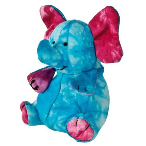 "Mary Meyer Happy Hippies Elephant 5"" Plush Toy,Single Item"